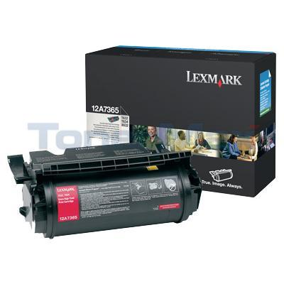 LEXMARK T630 TONER CARTRIDGE BLACK 32K